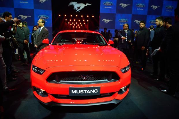 Ford Mustang Makes India Debut As First Made In Detroit Car Livemint