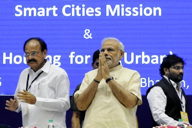 India launches its urban makeover plan with smart cities