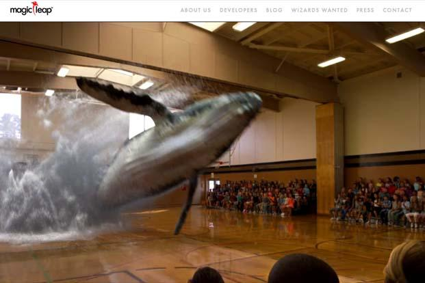 Magic Leap is promising to create a headset that would use a type of light-field technology to simulate 3-D images superimposed on the real world.