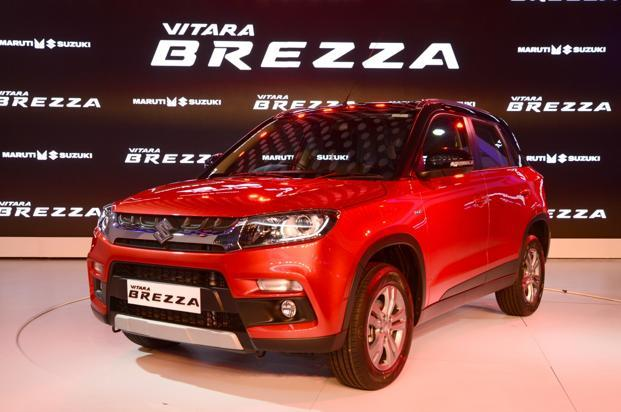 maruti suzuki unveils vitara brezza at auto expo 2016 livemint. Black Bedroom Furniture Sets. Home Design Ideas
