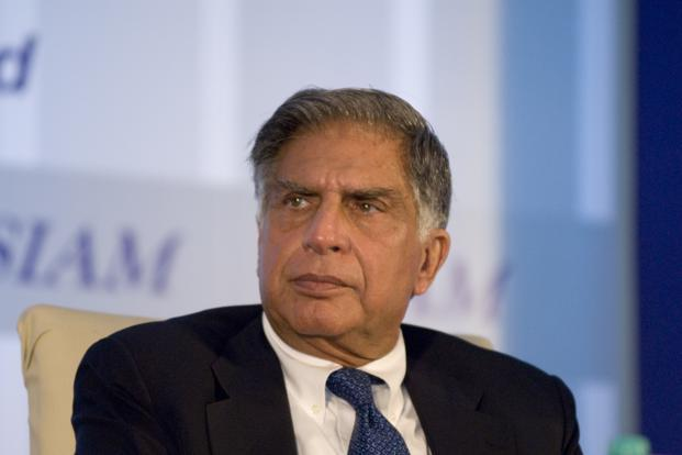 Ratan Tata has made small investments ranging from <span class='WebRupee'>Rs.</span>10 crore in online market place Snapdeal to <span class='WebRupee'>Rs.</span>10 lakh in Zivame. Photo: Mint