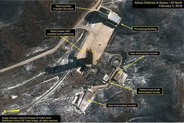 US officials say North Korea may be nearing launch
