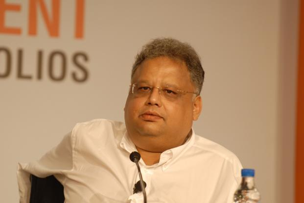 A file photo of investor Rakesh Jhunjhunwala. Photo: Hemant Mishra/Mint