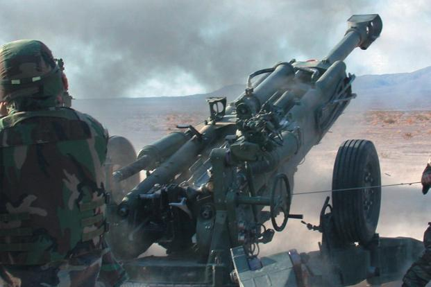 A file photo of the M777 Lightweight Howitzer.