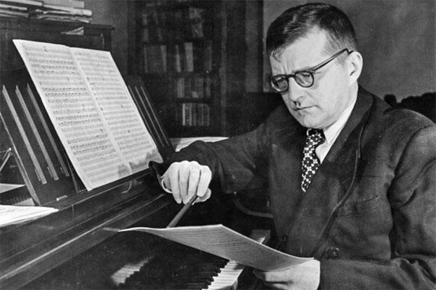 Shostakovich. Photo: Sovfoto/UIG via Getty Images