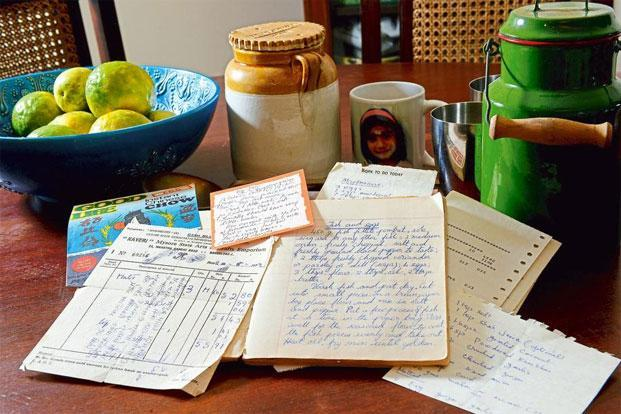 The notebook of time travel livemint receipts and pages from an old recipe book photo hemant mishramint forumfinder Choice Image