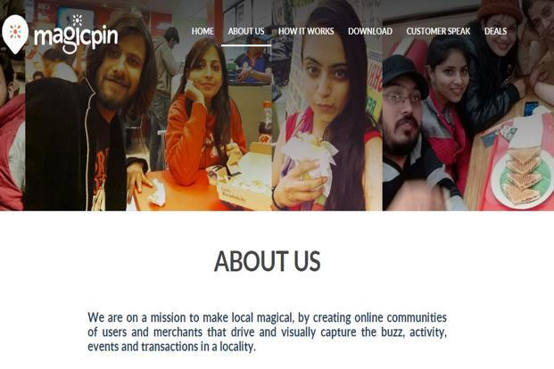 Magicpin offers features where users can take pictures and selfies to avail of offers and discounts at neighbourhood stores.