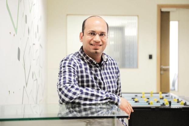 Abhishek Goyal, co-founder, Tracxn. Photo: Hemant Mishra.