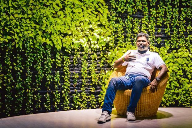 A file photo of Girish Mathrubootham, founder and chief executive, Freshdesk, who said that the acquisition of Framebench presents an opportunity to integrate collaborative capabilities. Photo: Mint