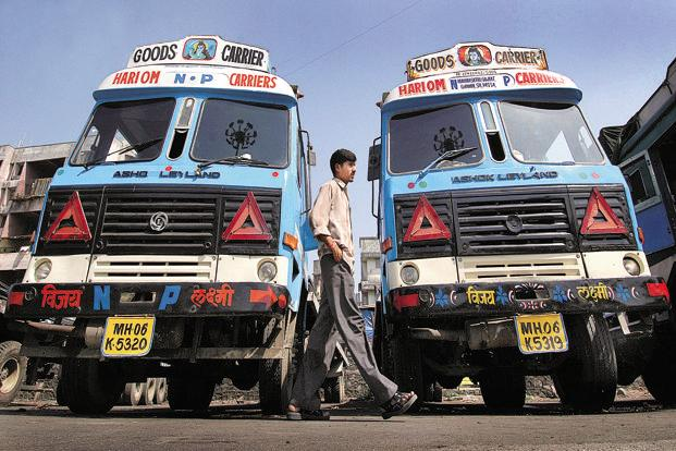 Ashok Leyland's share in trucks has inched up steadily from 20% to 24% in the last couple of years, although Tata Motors remains the undisputed No. 1, with nearly twice Leyland's share. Photo: Bloomberg