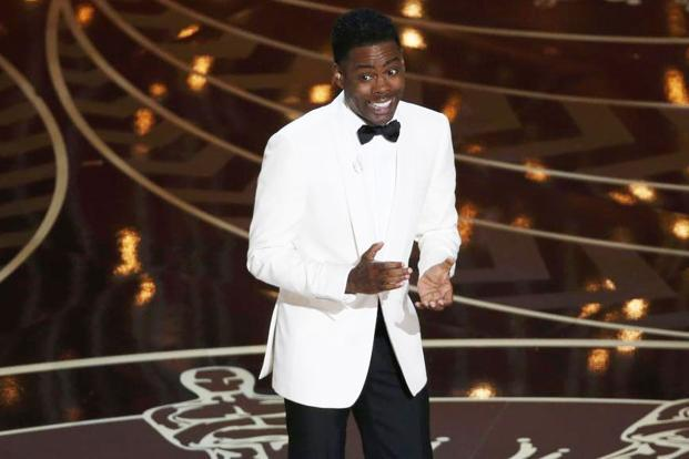 Chris Rock hosts the 88th Academy Awards. Photo: Reuters
