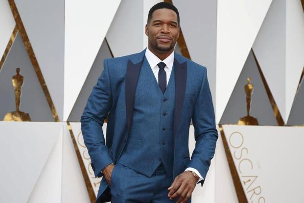 Michael Strahan at the 88th Academy Awards. Photo: Reuters