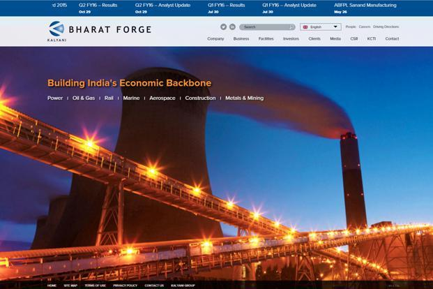 A fifth of Bharat Forge's stand-alone revenue comes from supplies to heavy truck manufacturers in North America.