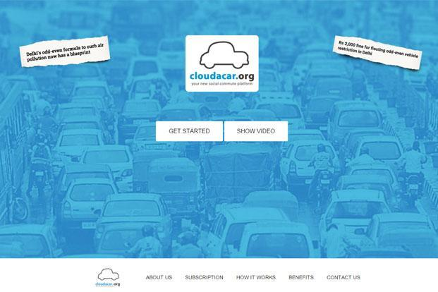 Launched in January 2016, the start-up offers car pooling solution and especially targets the office-going crowd.