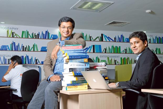 Morgan Stanley's filing comes nearly two months after Flipkart appointed co-founder Binny Bansal (right) as its new chief executive officer, replacing Sachin Bansal, who became executive chairman. Photo: Hemant Mishra/Mint