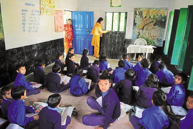Governments can spend as much as 20% of the Sarva Shiksha Abhiyan (SSA) for reimbursing schools for admitting students under this provision of the RTE act.  Photo: Pradeep Gaur/Mint