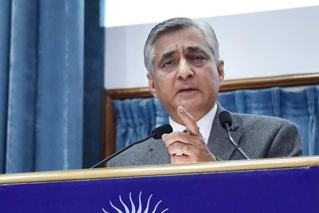 A file photo of T.S. Thakur, chief justice of India, whose remarks indicate a toughening judicial stance against PILs deemed to be frivolous. Photo: PTI