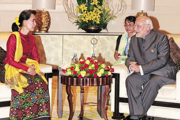 indo mayanmar relationship India and myanmar today signed 11 agreements in a range of sectors, including   modi meets suu kyi, discusses india—myanmar relations.
