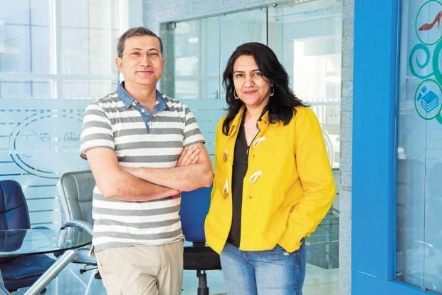 Radhika Aggarwal and Sanjay Sethi, founders of ShopClues. Photo: Mint