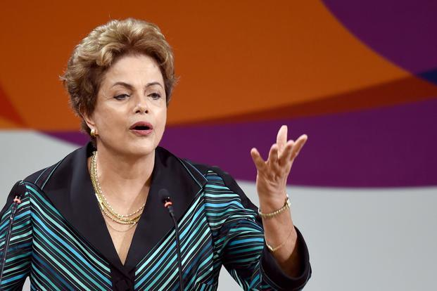 Dilma Rousseff, president of Brazil. Photo: AFP