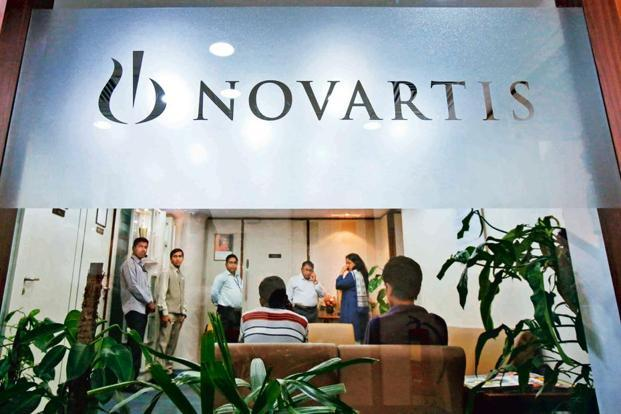 A file photo of the Novartis India headquarters in Mumbai. Photo: Reuters
