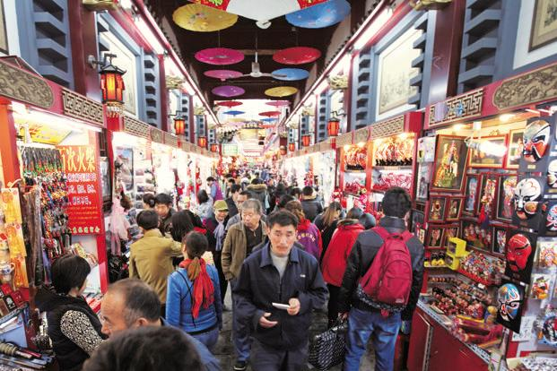 slowdown or not chinese are on a shopping spree livemint