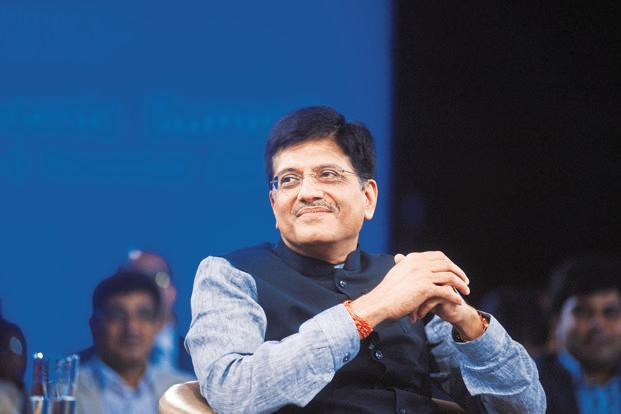 Piyush Goyal, minister of power, coal, new and renewable energy. Photo: Ramesh Pathania/Mint