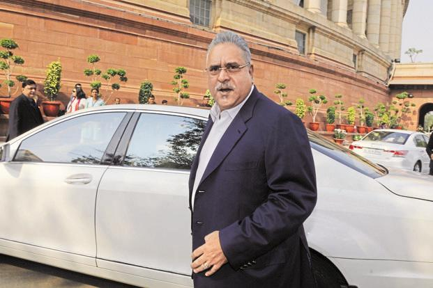 UB Group chairman Vijay Mallya. Photo: Hindustan Times