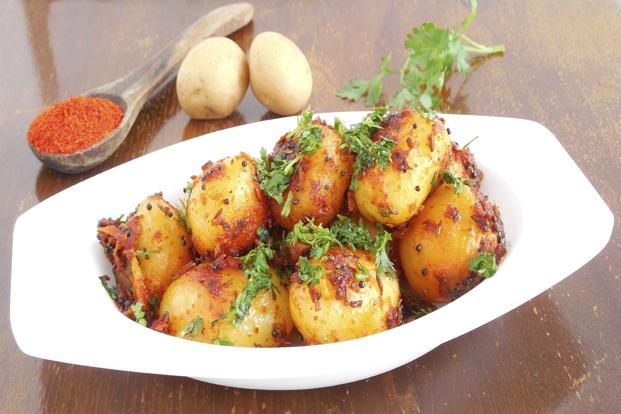 Eating 'aloo bhaji'–potatoes cooked gloriously on their own–is one of life's finest pleasures. Photo: iStockphoto