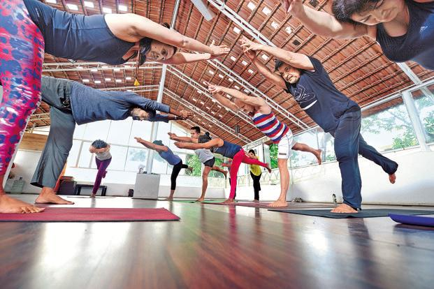 The idea is to have a set of yoga schools by the second International Yoga Day on 21 June when the prime minister or some other dignitary could hand over certificates formally to such schools. Photo: Hemant Mishra/Mint