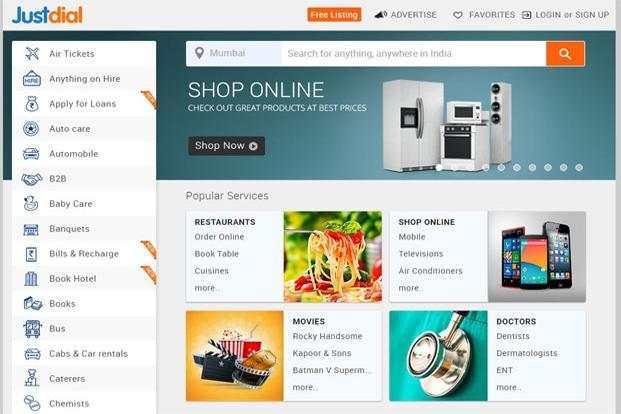 Just Dial?shares swing wildly as investors reassess e-commerce prospects - Livemint