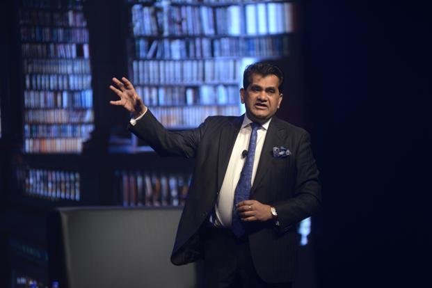 NITI Aayog chief executive officer Amitabh Kant at the Mint Luxury Conference in Mumbai. Photo: Abhijit Bhatlekar/Mint