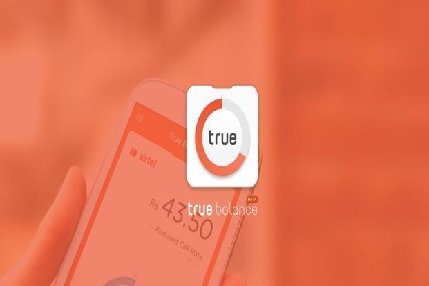True Balance is a mobile app that keeps users updated about their prepaid mobile account. Photo: