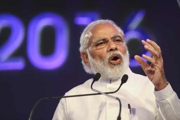 """I am happy to announce one more measure to improve the labour market and benefit the unemployed,"" the Prime Minister Narendra Modi said.  Photo: Bloomberg"
