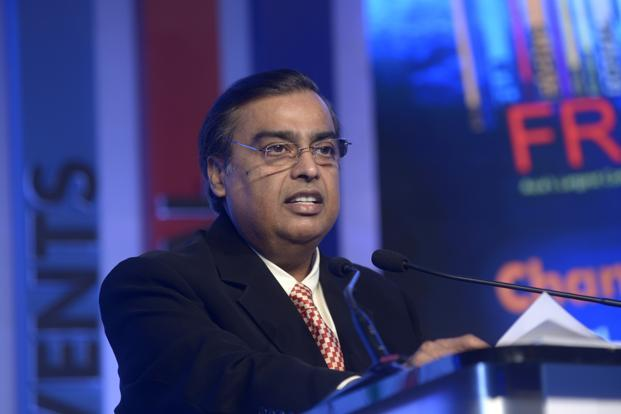 Reliance Jio initial investment at Rs150,000 crore: Mukesh Ambani - Livemint
