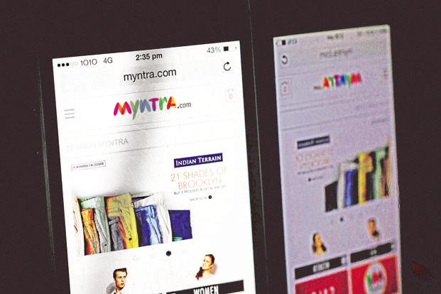 Fashion retailers such as Flipkart's Myntra are moving to a marketplace model, but currently depend on one seller for most sales. Photo: Bloomberg