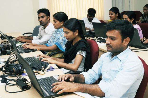 A file photo of a computer lab at IIIT Hyderabad. Photo: Mint