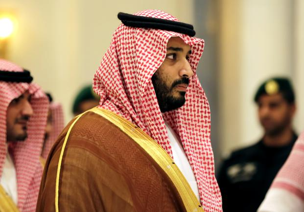 A file photo of Saudi Arabia deputy crown prince Mohammed Bin Salman. Photo: AP