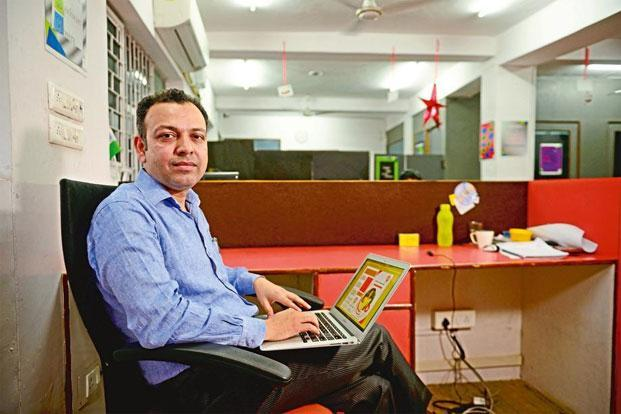 Masroor Lodi, co-founder and director of The Entrepreneurship School in Gurgaon. Photo: Pradeep Gaur/Mint