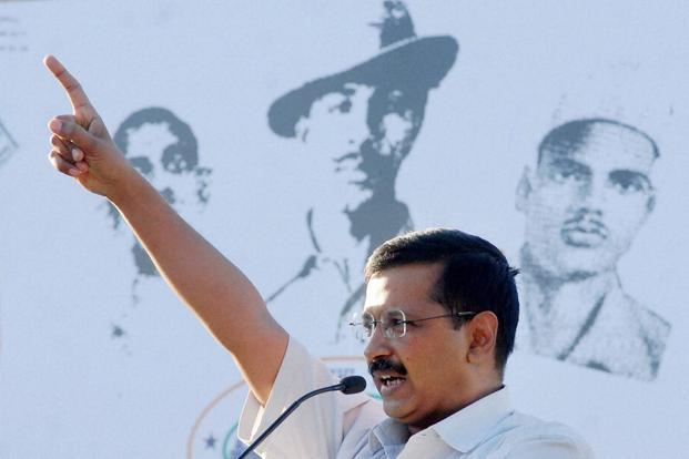 Arvind Kejriwal. Photo: PTI