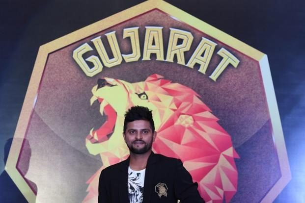 A file photo of Suresh Raina, captain of Gujarat Lions. Photo: AFP