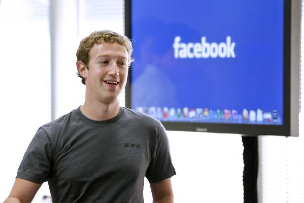 CEO Mark Zuckerberg has spoken at Facebook staff meetings this year about the need to inspire personal sharing. Photo: Bloomberg