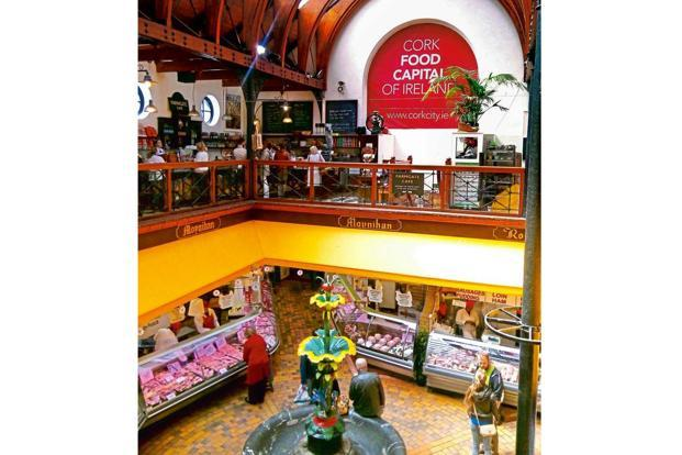 The English Market in Cork. Photographs courtesy Tourism Ireland