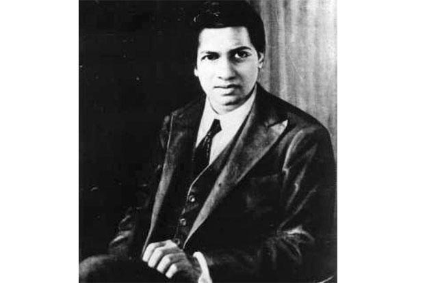 S. Ramanujan. Photo: Wikimedia Commons