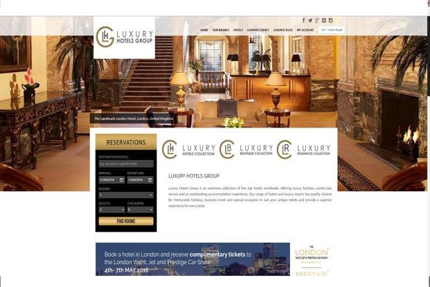 Luxury hotels group to add 200 hotels in india this fiscal for Luxury hotel group
