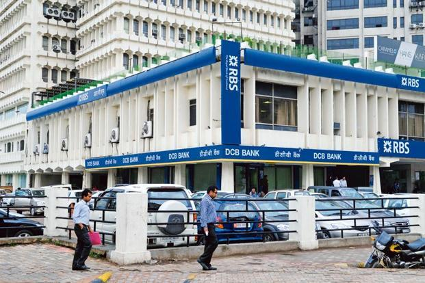 A file photo of a branch of The Royal Bank of Scotland (RBS) at Barakhambha Road, New Delhi. RBS is said to be closing the Indian business after failing to find a buyer. Photo: Pradeep Gaur/Mint