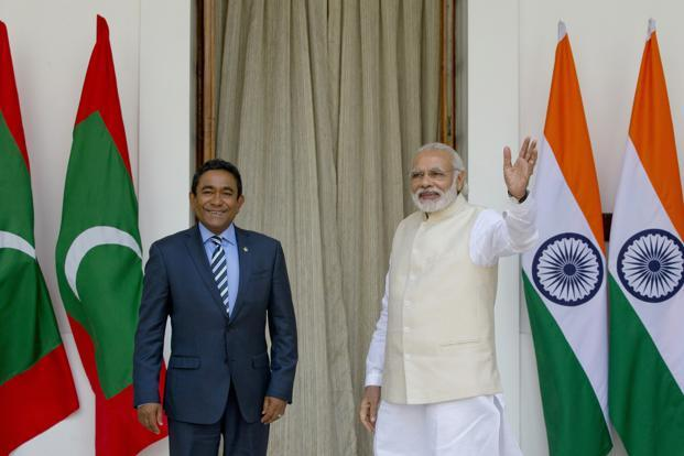 Image result for India and Maldives