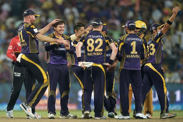 Kolkata are generally strong at home and go into the game after a thumping win over Delhi Daredevils in their first match. Photo: AFP