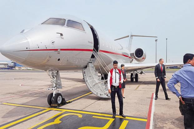 The Global 6000 can cruise at a top speed of 950km per hour. Photo: Pradip Kumar Saha.
