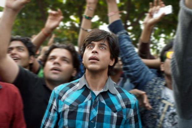 Shah Rukh Khan in a still from 'Fan'.